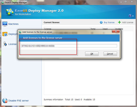 easeus partition master trial license key