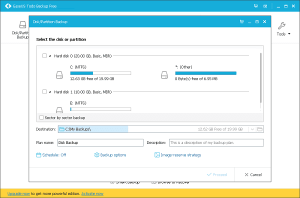 EaseUS Todo Backup : Hands-on Review